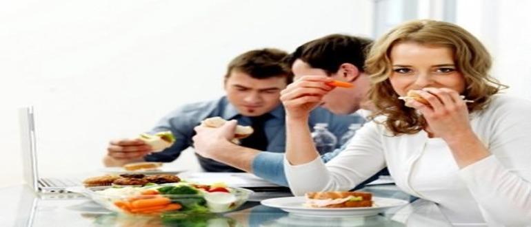 Правильный режим питания и распорядок дня
