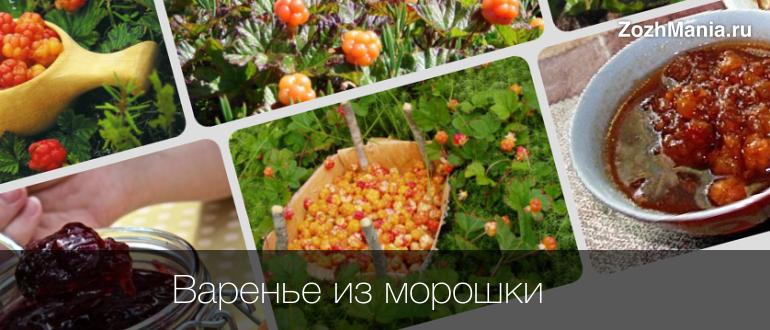 Варенье из морошки и его полезные свойства