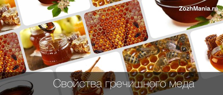Гречишный мед полезные свойства для мужчин