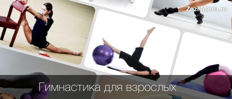 Домашняя гимнастика для начинающих