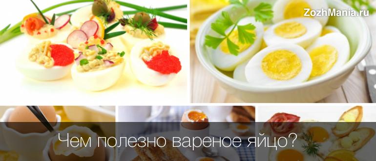 Полезные свойства яиц куриных вареных