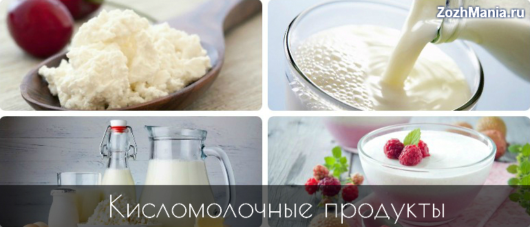 Молочные продукты к чему относятся. Кисломолочные продукты