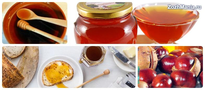Для чего употребляют каштановый мед