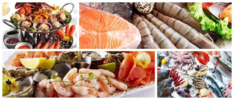 Какие витамины содержатся в морепродуктах