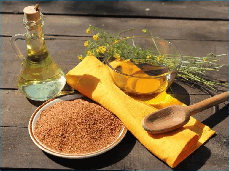 Рыжиковое масло изготавливают из семян рыжика ярового