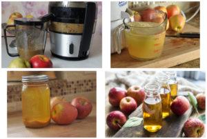 Домашнее приготовление яблочного сока