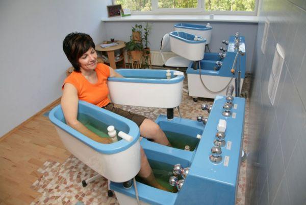 Четырехкамерная ванная