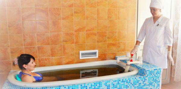 Принимаем лечебные ванны