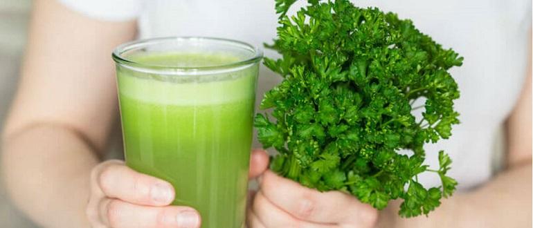 сок петрушки польза и вред как принимать