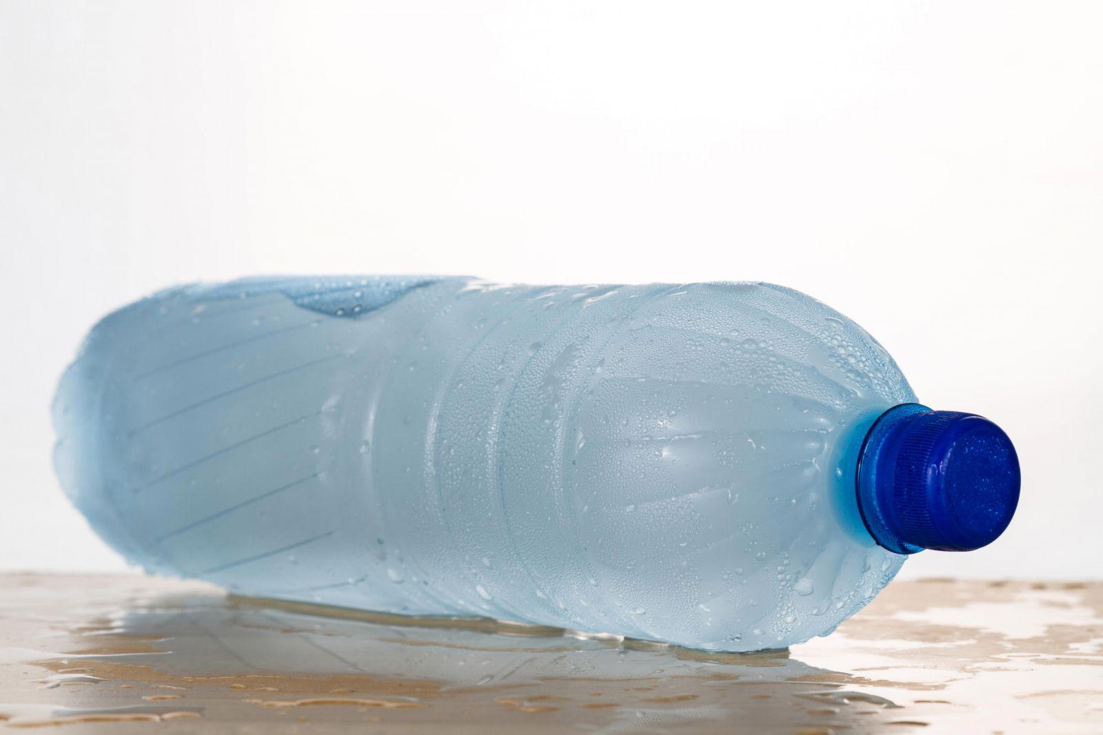 Заморозка в пластиковой бутылке