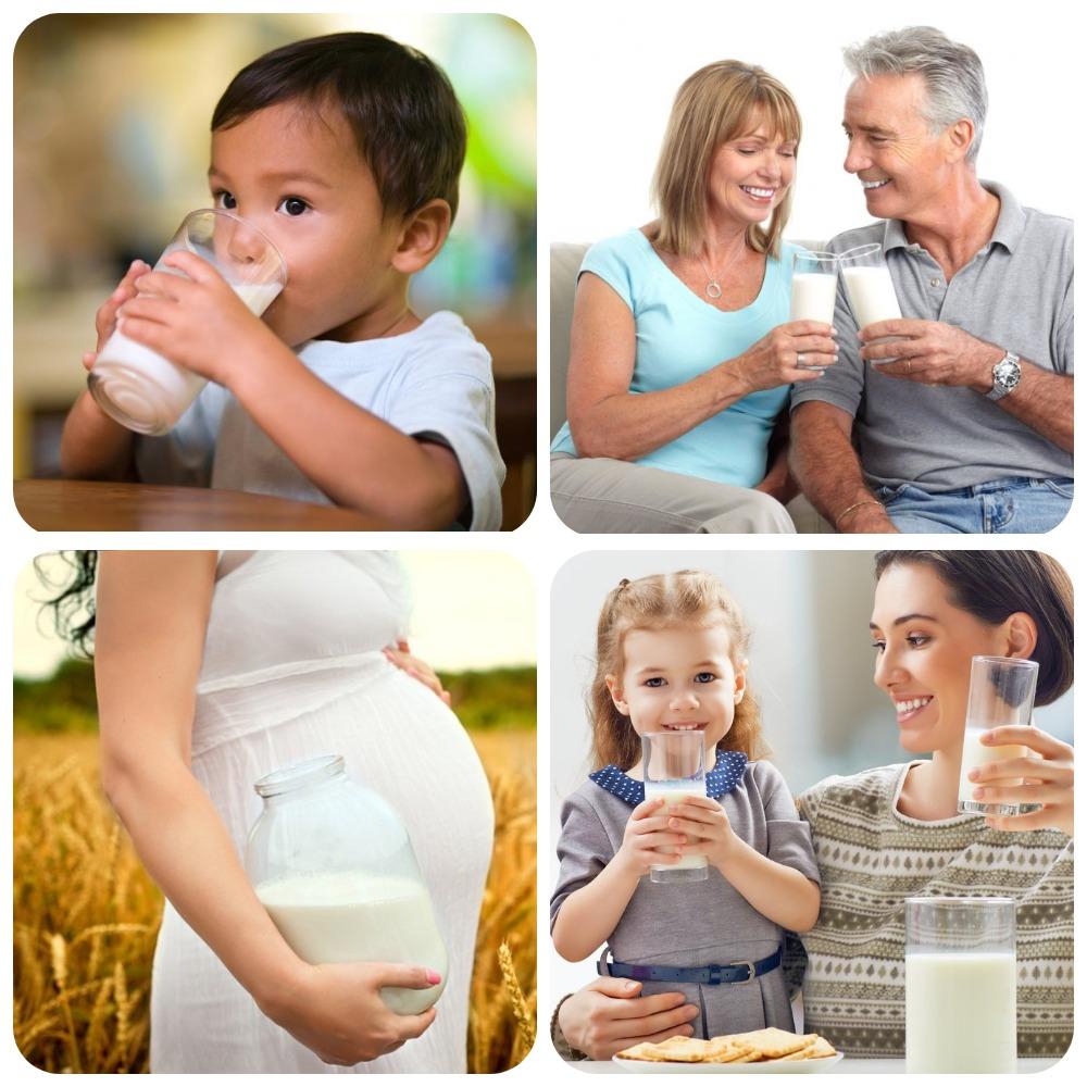 Молоко полезно во всяком возрасте